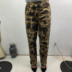 Quilted lined Camoflague Hunting Pants